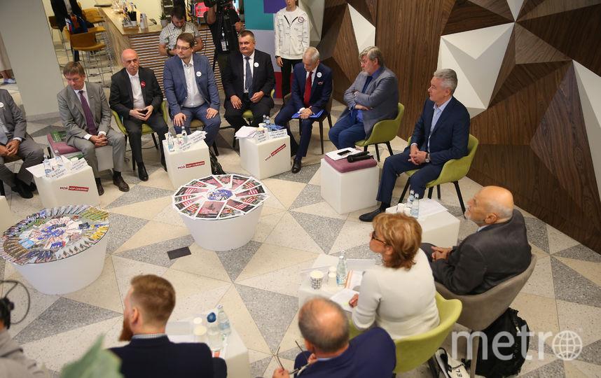 Встреча Сергея Собянина с сообществом экологов в избирательном штабе. Фото Василий Кузьмичёнок