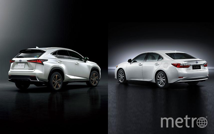 Lexus NX и Lexus ES.