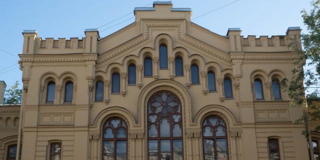 Бывшее императорское училище, Ломоносова, 9.
