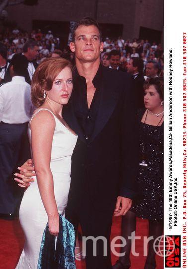 Джиллиан Андерсон. 1997 год. Фото Getty