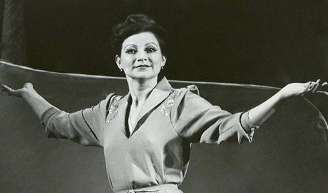 Елена Степаненко в молодости.