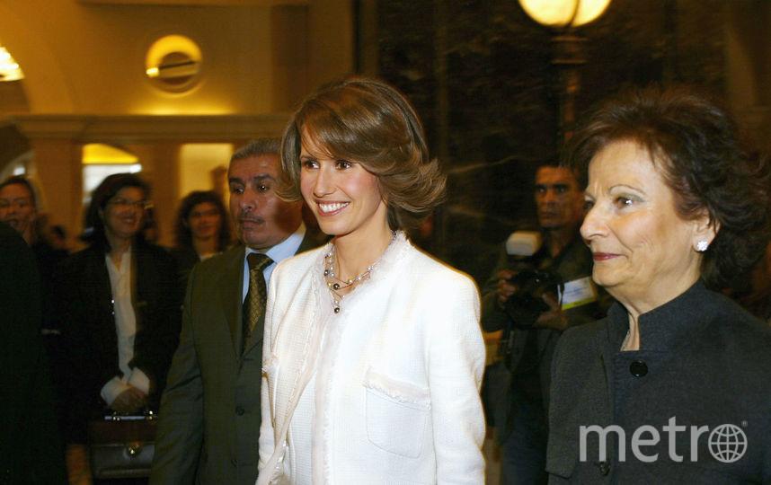 Жена президента Сирии Башара Асада Асма. Фото Getty