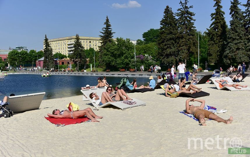 На западе Москвы появятся два новых пляжа. Фото Василий Кузьмичёнок