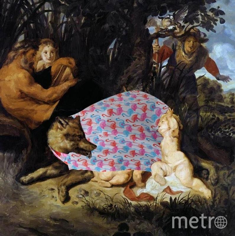 Картина Рубенса «Ромул и Рем». Фото предоставлено авторами проекта