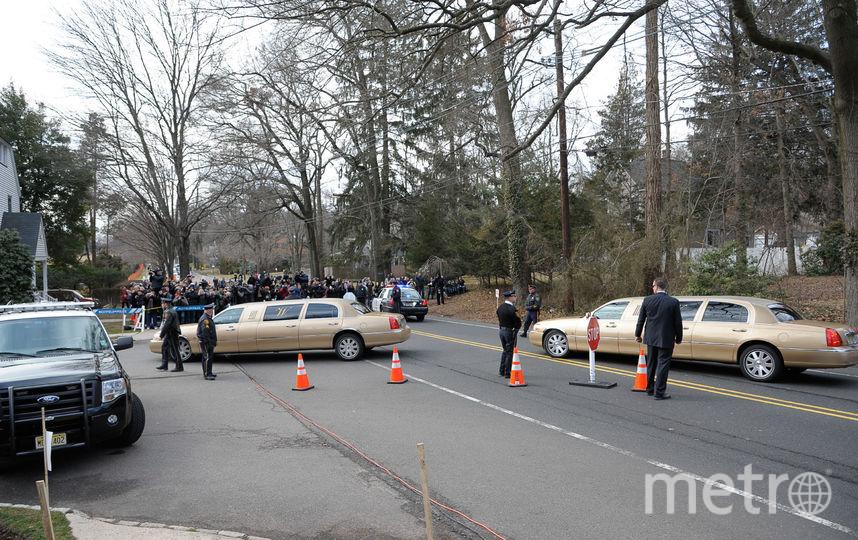 День похорон Уитни Хьюстон, фотоархив. Фото Getty
