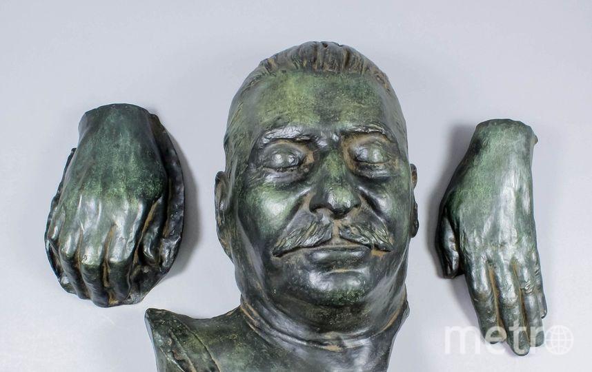 Посмертная маска Иосифа Сталина. Фото The Canterbury Auction Galleries.