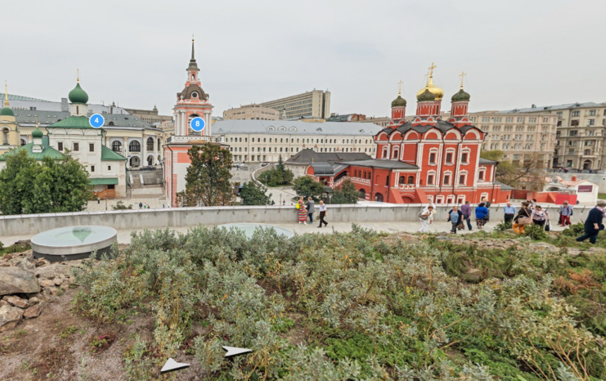 """Парк """"Зарядье"""". Фото Яндекс.Панорамы"""