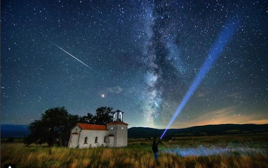 Метеорный поток Персеиды достиг пиковой активности. Фото Скриншот Instagram: @krasistm.