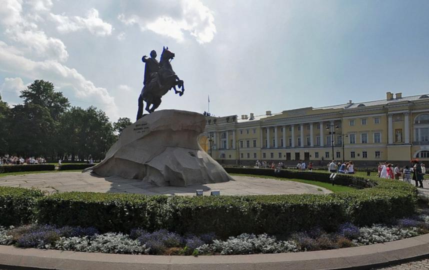 Медный Всадник. Фото Яндекс.Панорамы