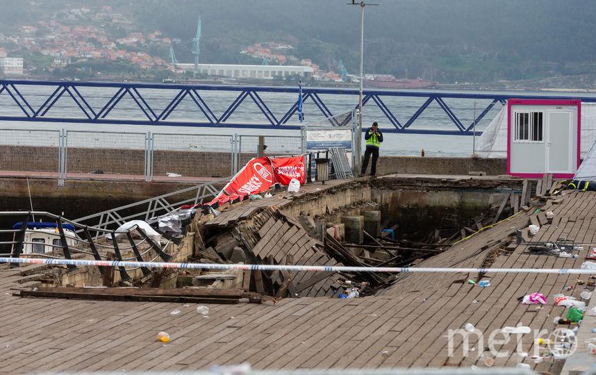 В Испании на фестивале произошёл несчастный случай. Фото AFP