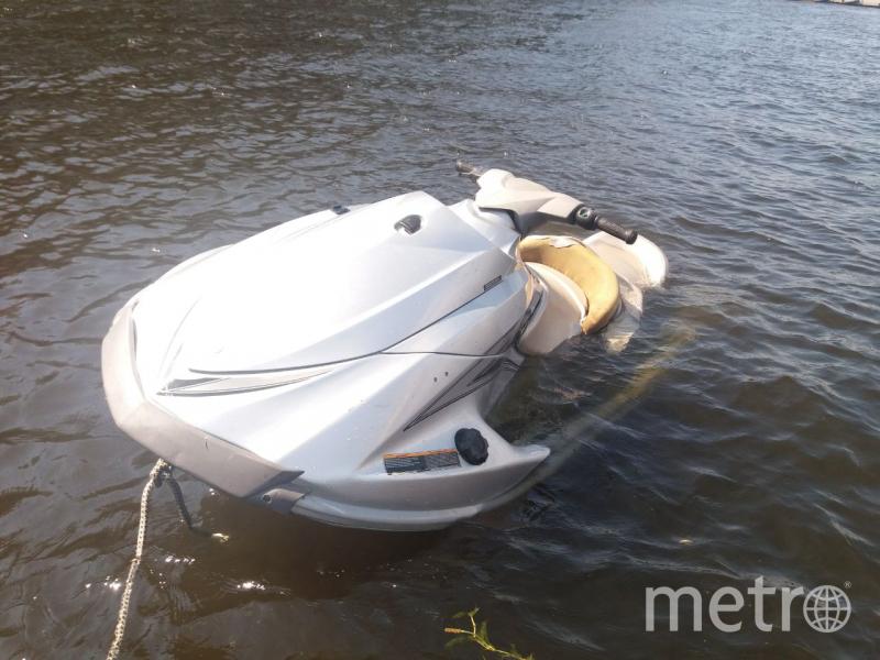 Утонувший гидроцикл. Фото СЗ УТ СК РФ