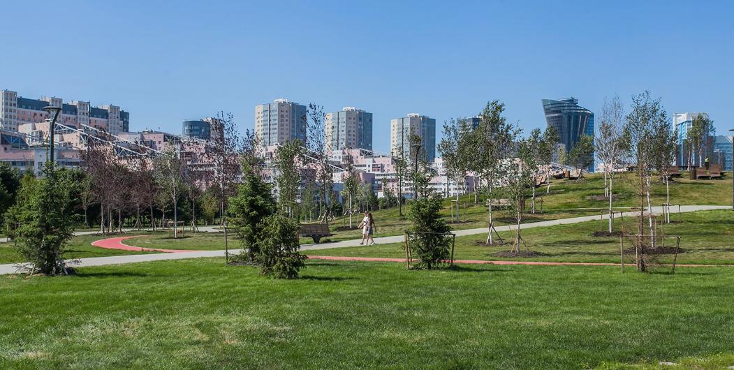 Как в Москве благоустроили парк на Ходынке. Фото mos.ru