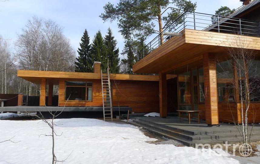 Зогородный эко-дом. Фото фото компании Renova-int