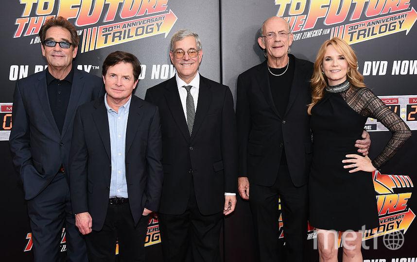 """Актёры фильма """"Назад в будущее"""" в 2015 году. Фото Getty"""