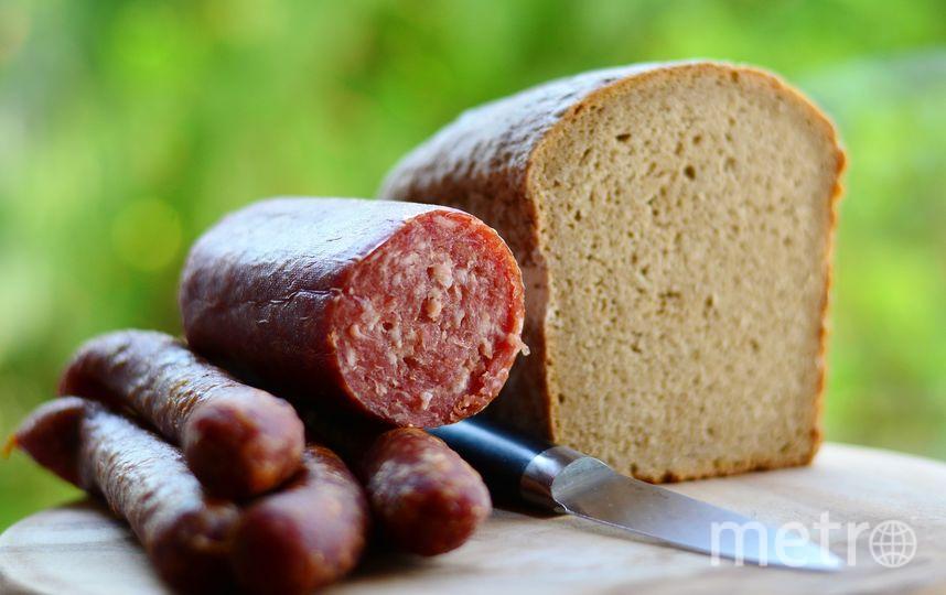 По мнению Милонова, продукт с содержанием мяса менее 50% не может называться колбасой. Фото Pixabay