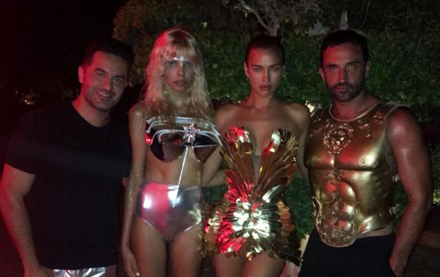Ирина Шейк на вечеринке Mert and Marcus. Фото Скриншот Instagram: @irinashayk