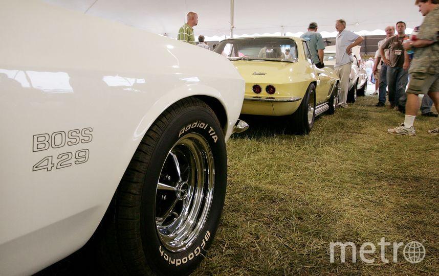 Выставка классических авто. Фото Getty