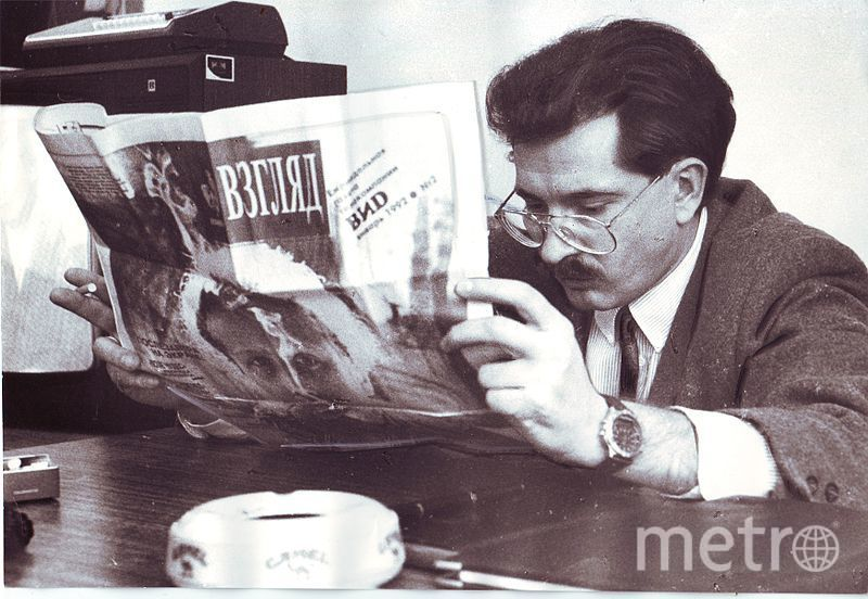 Влад Листьев, фотоархив. Фото Wikipedia