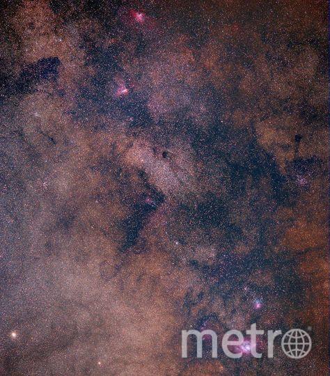 Орёл, Омега, Туманность Трифид, Лагуна. Фото Скриншот Instagram/cosmic.speck