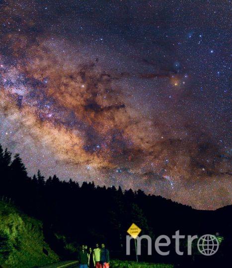 Млечный Путь. Фото Скриншот Instagram/cosmic.speck