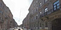 В историческом центре Петербурга рухнули строительные леса