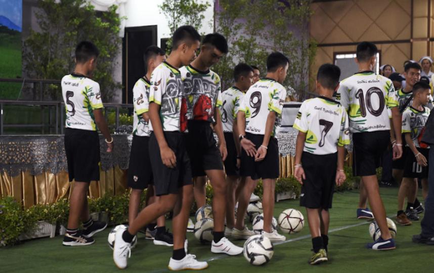 Дети из Тайланда. Фото AFP