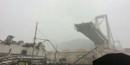 Обвалившийся мост в Генуе должны были снести ещё 10 лет назад