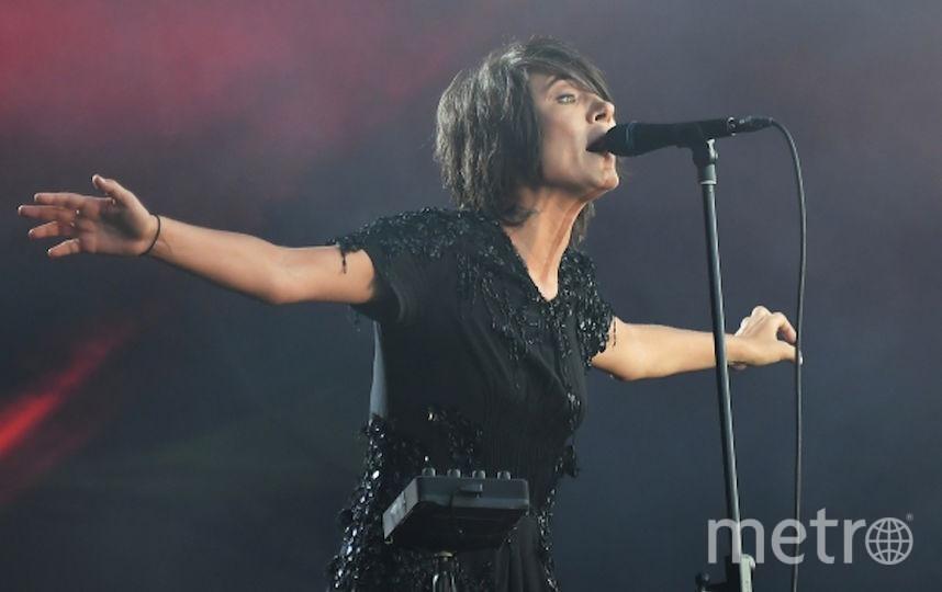 Певица Земфира. Фото РИА Новости