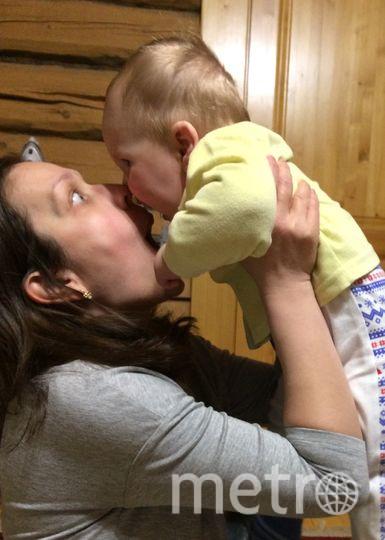 """Автор рубрики """"Дети"""" Виктория Мельникова с сыном. Фото предоставлено Викторией Мельниковой, """"Metro"""""""