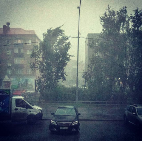 Ураган в Тюмени. Фото instagram/viktoriya_avvakumova