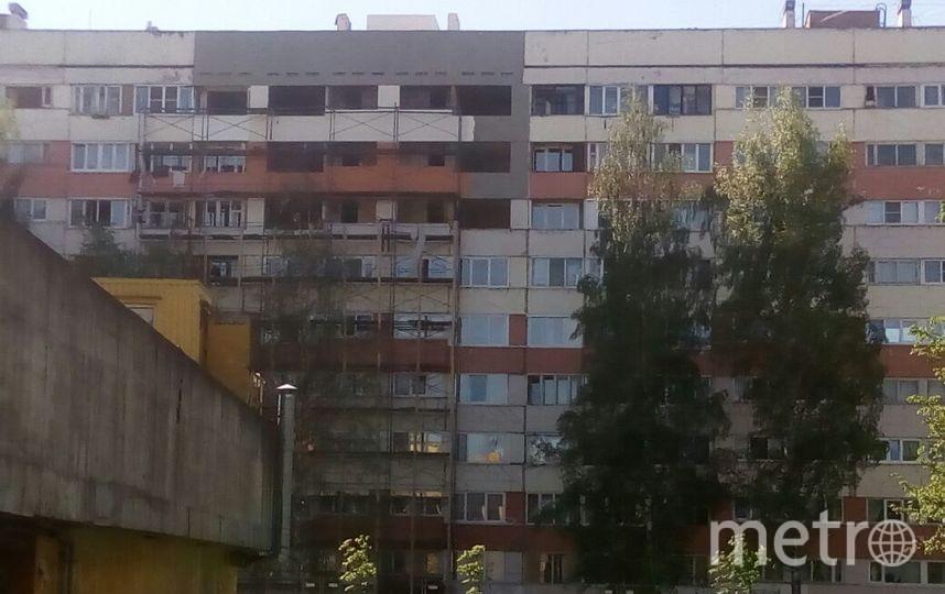 Пострадавшие от взрыва газа в доме на проспекте Народного Ополчения, 219, до сих пор не вернулись в свои квартиры. Фото предоставлено жильцами