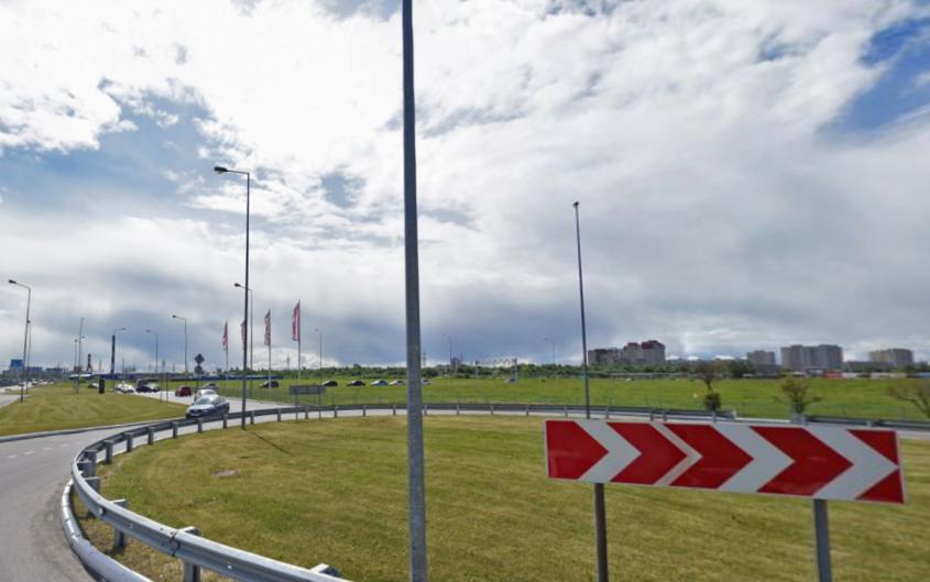 Метро в Кудрово обещают построить в ближайшее время. Фото Скриншот Яндекс. Панорамы