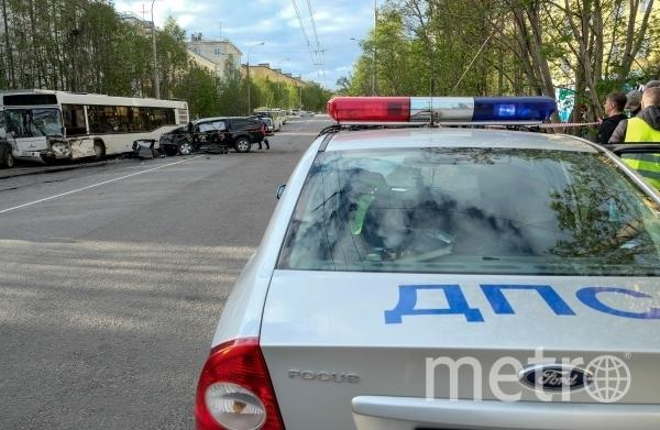 в Геленджике УАЗ опрокинулся в овраг. Фото РИА Новости
