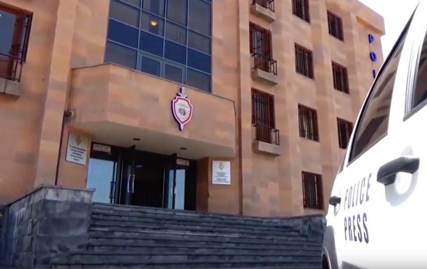 Центральное отделение полиции Еревана. Фото Скриншот Youtube