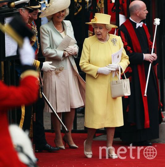 Королева Елизавета II и Камилла Паркер-Боулз. Фото Getty