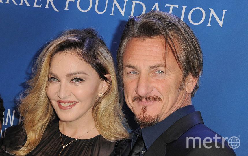 Мадонна с бывшим мужем актёром Шоном Пенном, 2016 год. Фото Getty