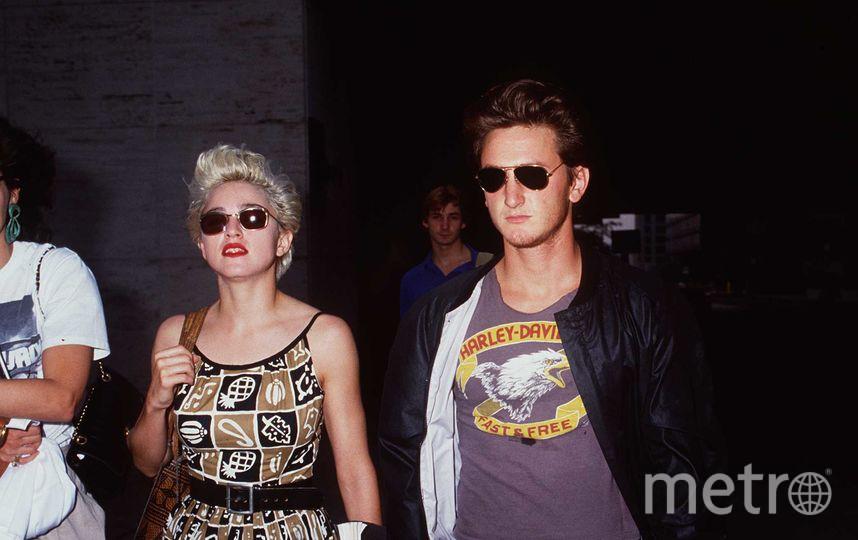 Мадонна и Шон Пенн, 1986 год. Фото Getty