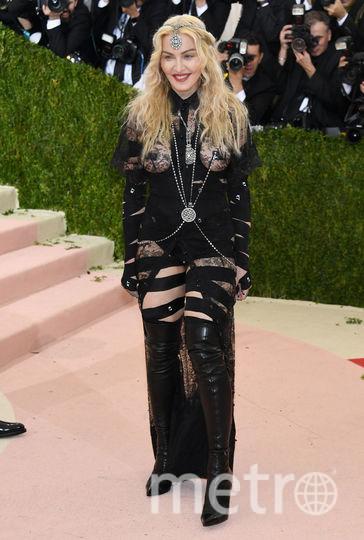 Мадонна на Met Gala в 2016 году. Фото Getty