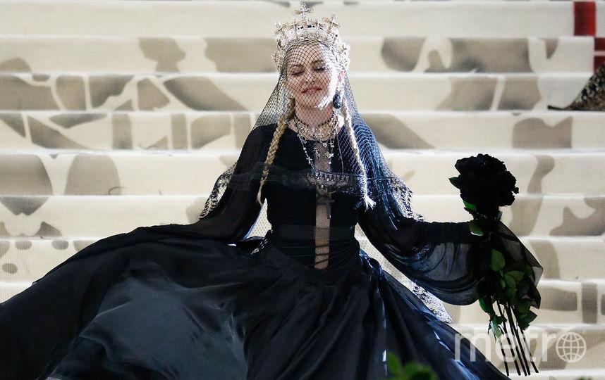 Мадонна на Met Gala в 2018 году. Фото Getty