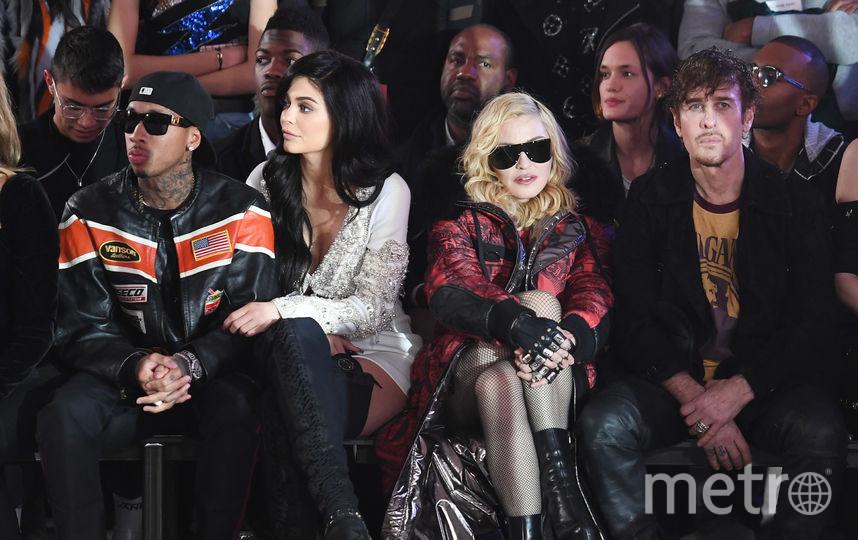 Мадонна на показе в Нью-Йорке, 2017 год. Фото Getty