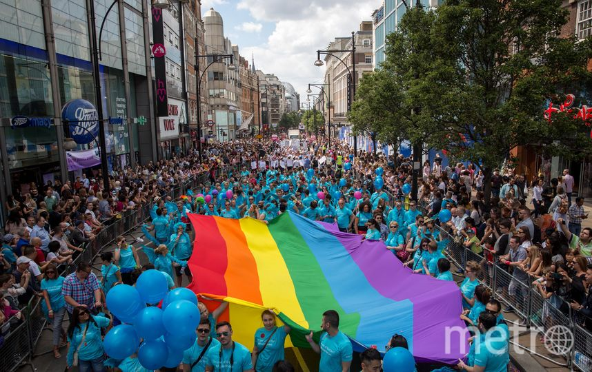 Гей-парад в Лондоне. Фото Getty