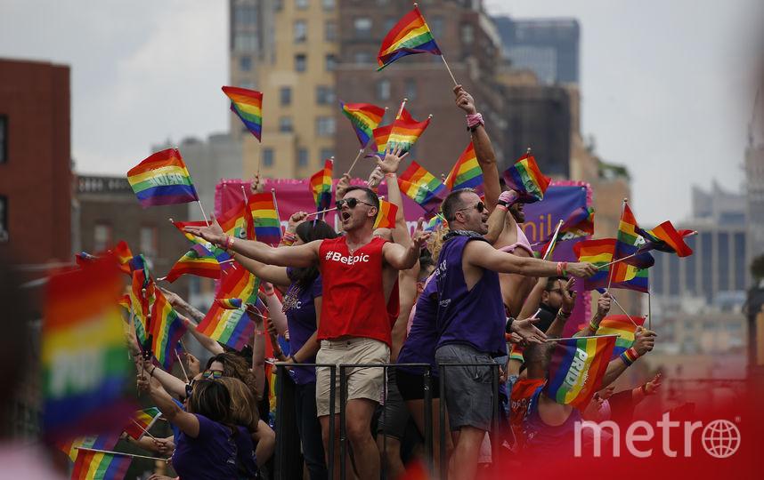 Гей-парад в Нью-Йорке. Фото Getty