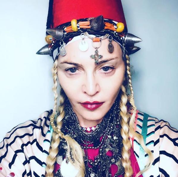 Мадонна, 2018 год. Фото Скриншот instagram.com/madonna/.