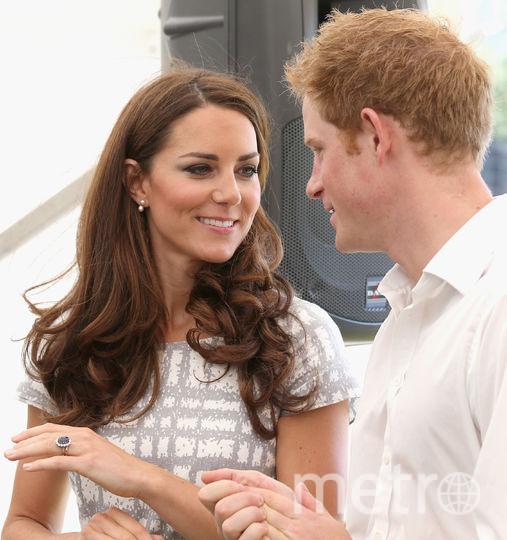 Кейт Миддлтон и принц Гарри. Фото Getty