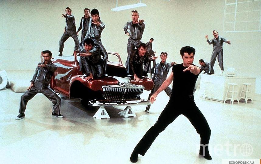"""Кадр из мюзикла """"Бриолин"""" (1978). Фото Paramount Pictures, kinopoisk.ru"""