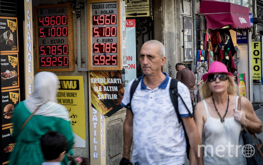 Курс лиры беспокоит жителей Турции. Фото Getty