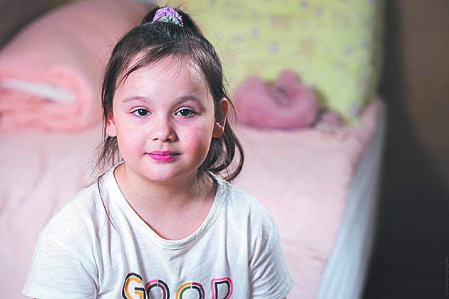 """Болезнь проявилась у Киры два года назад. Фото предоставлено  фондом """"Подсолнух"""""""