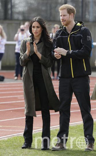 "Меган Маркл и принц Гарри на ""Играх непобеждённых"" (архивное фото).. Фото Getty"