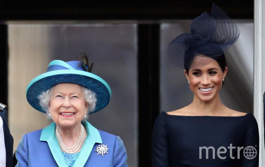Королева Елизавета и Меган Маркл. Фото Getty