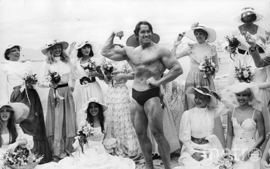 Арнольд Шварценеггер в 20 лет. Фото Getty